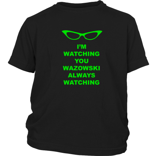 Roz is Watching Kids Shirt