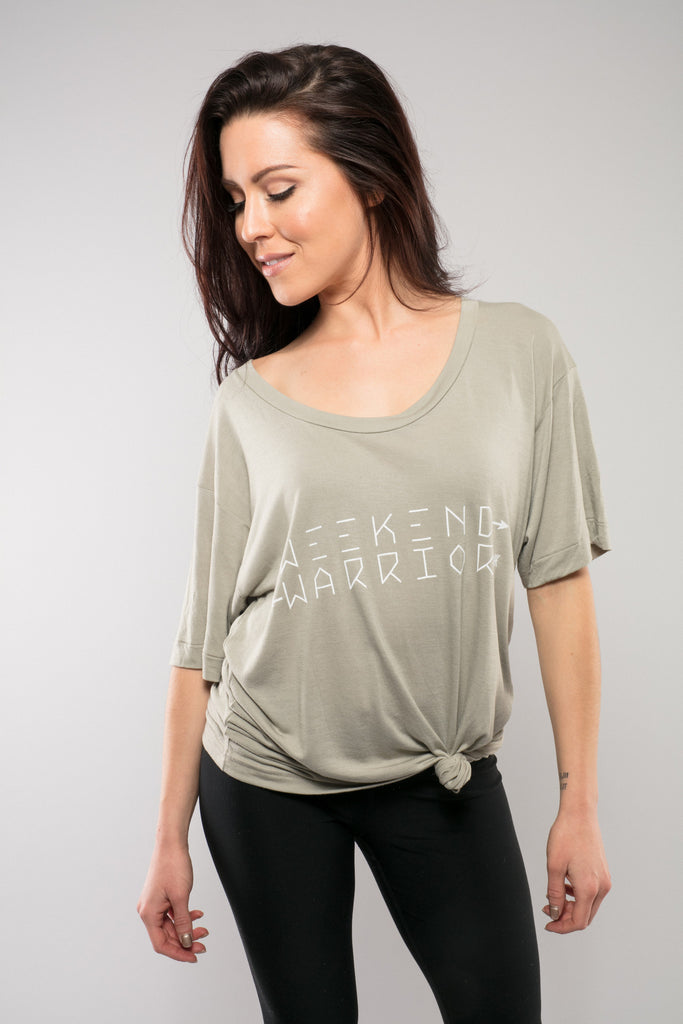 Weekend Warrior Oversized Tee