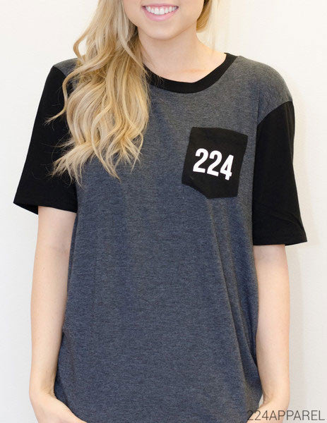Two Two Four Pocket Tee