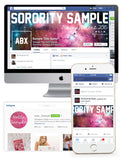 Infinity + Beyond Customized Social Media Package