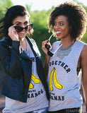 Big Little We're Bananas Muscle Tank
