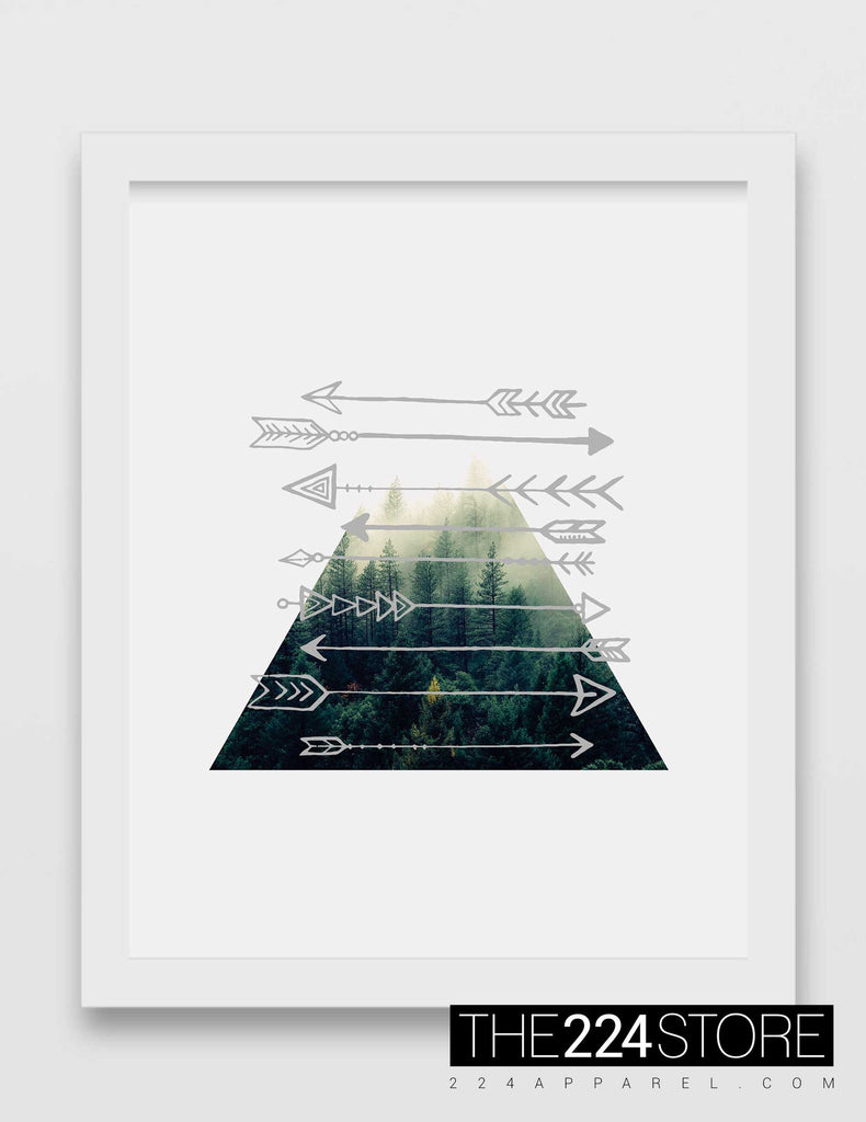 Arrows & Mountains Triangle