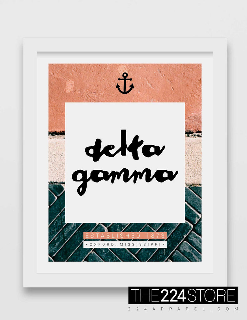 Texture & Color Block Delta Gamma