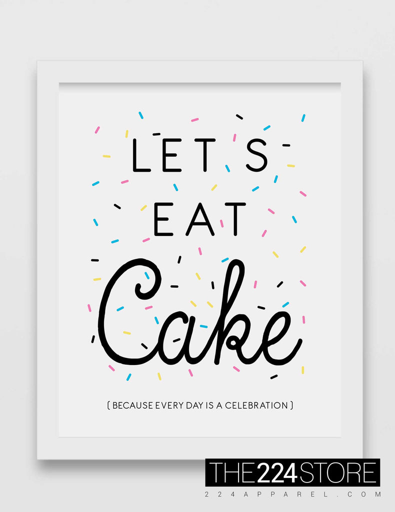 Let's Eat Cake & Sprinkles
