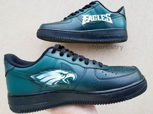 Eagles Nike Air Force 1 - Sneakers Customization