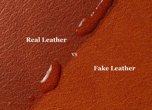 How to Tell Between Real and Fake Leather