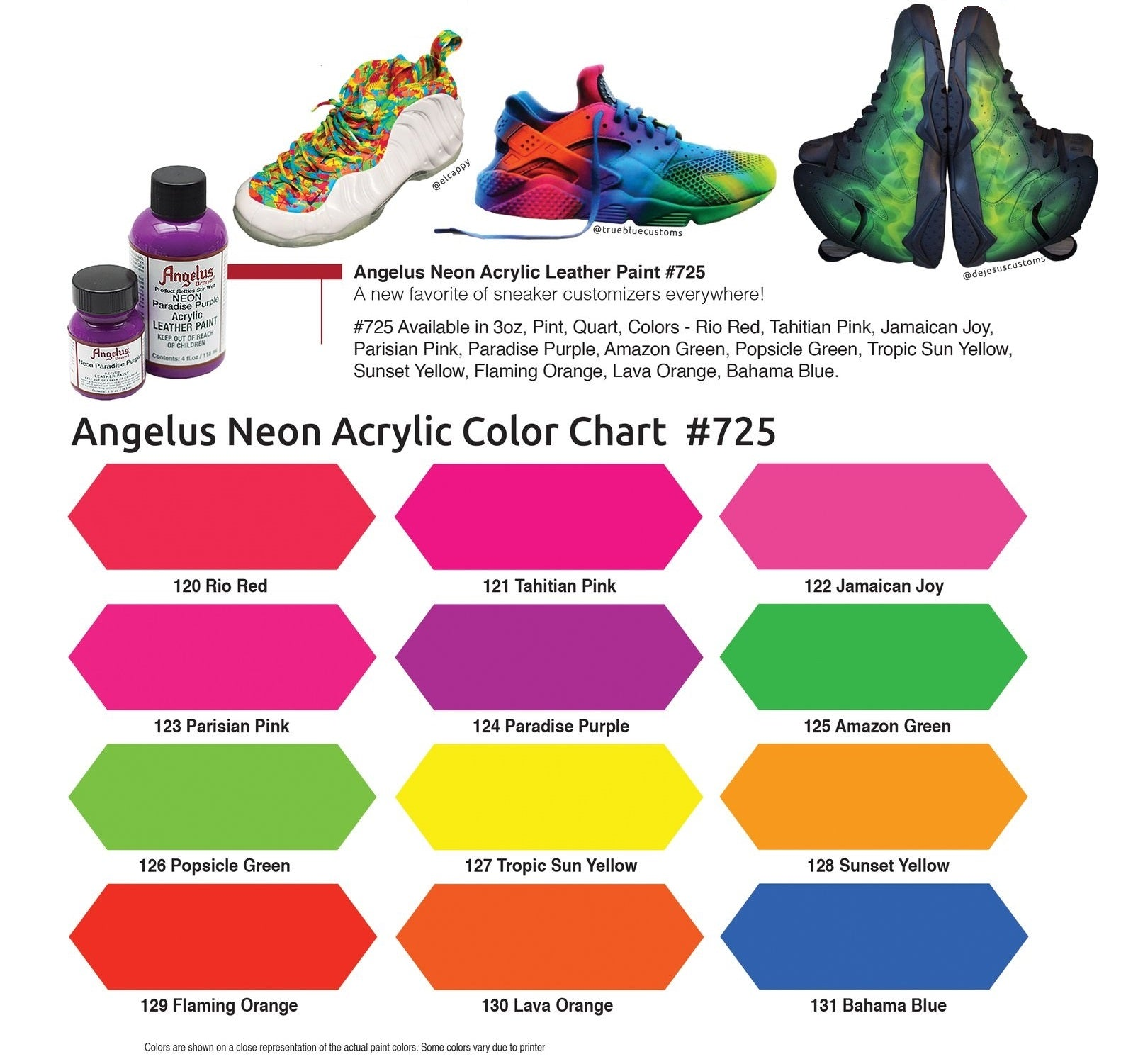 One shot paint color chart choice image free any chart examples one shot paint color chart image collections free any chart examples one shot paint color chart nvjuhfo Images
