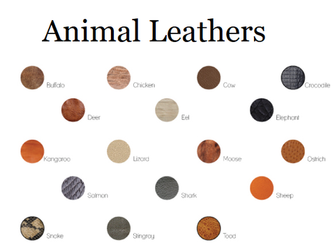 Florine Leather & Style Animal Leather Types Styles of Exotic Leather