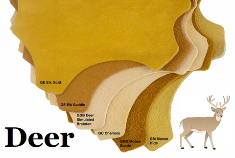 Source: Buckskin Leather - Deer Leather types