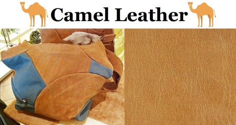 Photo: Blu Dot & Leather Dictionary - camel leather handbag & camel leather hide