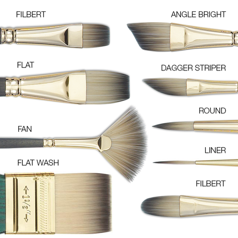 different types of brush types