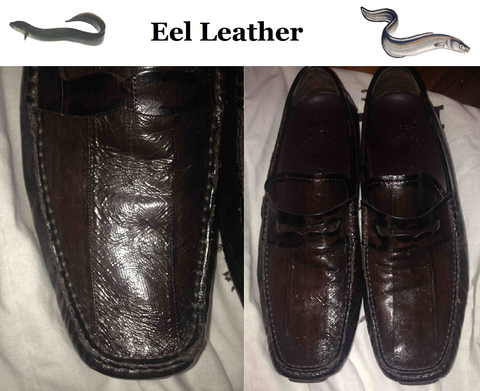 Source: Style Forum - eel leather loafers