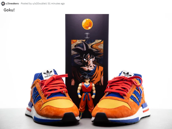 competitive price 36270 4f9d9 Dragon Ball Z Adidas Shoe - Opinion 2018