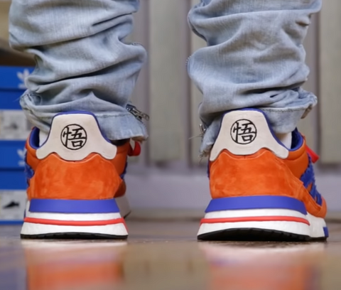 goku shoes back