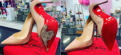 Louboutin shoes replacement