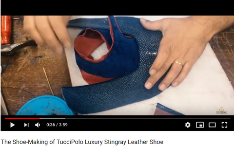 Tucci Polo shoes video
