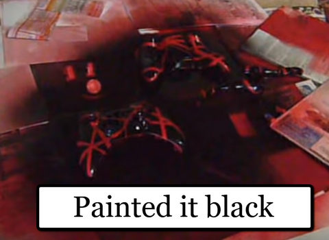 How To Custom Paint Your Xbox Controller https://www.youtube.com/watch?v=dMk9O1fZ3Vg&t=187s paint it black Matt