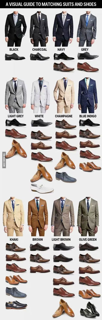A Leather Dress Shoe Color Guide