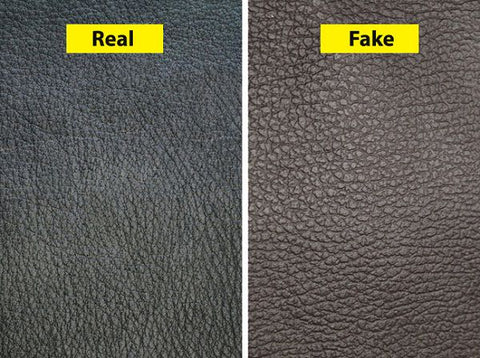 is the leather real or fake