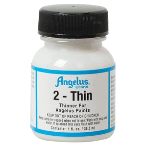Angelus 2-Thin Acrylic Leather Paint Thinner 1 oz Paint & Dye Angelus