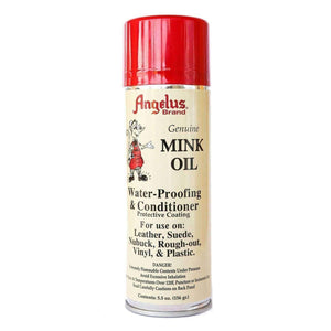 Angelus Mink Oil Spray Leather Conditioner Waterproof Repellent 5.5 oz. Shoe & Leather Care Angelus