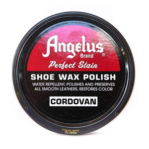 Angelus Perfect Stain Shoe Wax Polish 3 oz Shoe & Leather Care Angelus Cordovan