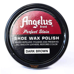 Angelus Perfect Stain Shoe Wax Polish 3 oz Shoe & Leather Care Angelus Dark Brown