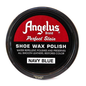 Angelus Perfect Stain Shoe Wax Polish 3 oz Shoe & Leather Care Angelus Navy Blue