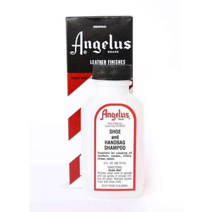 Angelus Shoe and Handbag Shampoo - Leather, Suede, Wool, Fabric Cleaner 3 oz Shoe & Leather Care Angelus