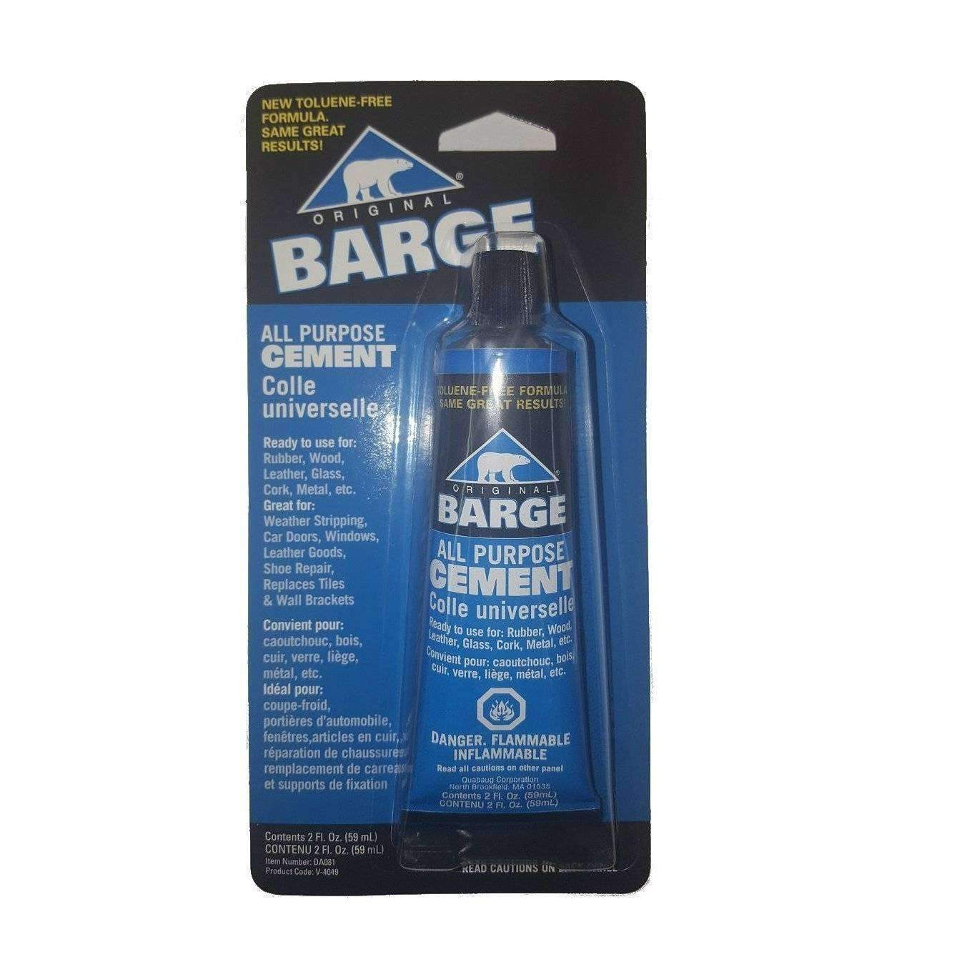 Barge All Purpose Cement Leather Rubber Wood Glass Glue 3 4 Oz