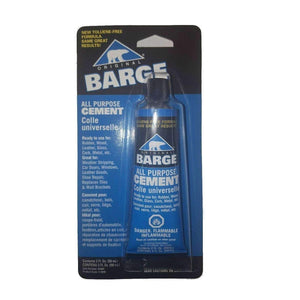Barge All Purpose Cement Leather Rubber Wood Glass Glue 3/4 oz Craft & Repair Barge