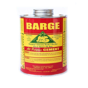 BARGE All-Purpose CEMENT Rubber Leather Shoe Waterproof Glue 1 Qt (o.946 L) Craft & Repair Barge
