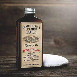 Chamberlain's Leather Milk Auto Refreshener Formula No. 4 Leather Conditioner Shoe & Leather Care Leather Milk