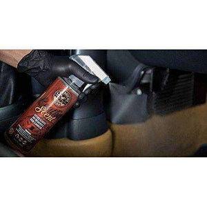 Chemical Guys AIR_102_16 Leather Scent Premium Air Freshener and Odor Eliminator (16 oz) Apparel Accessories Chemical Guys