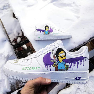 """Escobart"" Custom Nike Air Force 1 '07 Footwear Nike"