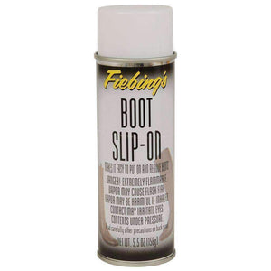 Fiebing's Boot Slip-On-Easy Putting on and Removing Boots Aerosol Spray 5.5 oz Shoe & Leather Care Fiebing's