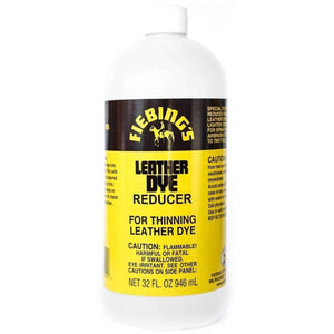 Fiebing's Leather Dye Reducer Additive - 32 oz Paint & Dye Fiebing's