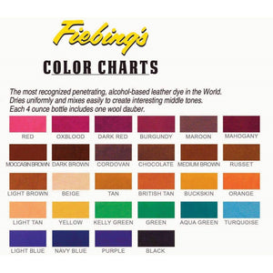 Fiebing's Leather Dye w/Applicator - 4 oz Paint & Dye Fiebing's