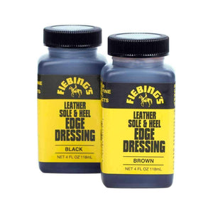 Fiebing's Leather Sole & Heel Edge Dressing - 4 oz. Shoe & Leather Care Fiebing's