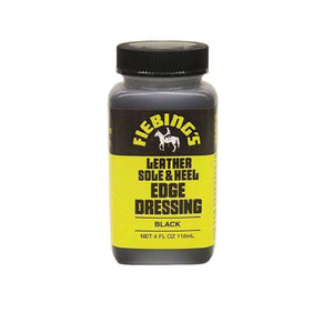 Fiebing's Leather Sole & Heel Edge Dressing - 4 oz. Shoe & Leather Care Fiebing's Black