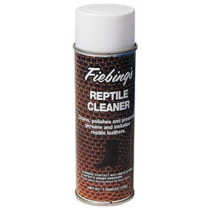 Fiebing's Reptile/Exotic Leather Cleaner Conditioner Polish & Preserver 7 oz Shoe & Leather Care Fiebing's