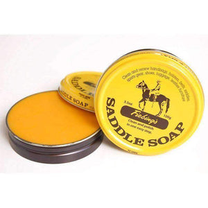 Fiebing's Saddle Soap, Leather Cleather, Polish & Conditioner 3.5 oz - Yellow Shoe & Leather Care Fiebing's