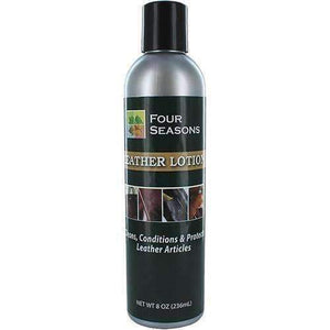 Four Seasons Leather Lotion - Patents/Reptile/Vinyl Cleaner & Conditioner 8 oz Shoe & Leather Care Four Seasons