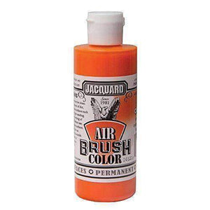Jacquard Airbrush Color Paint 4 OZ Paint & Dye Jacquard Bright Orange