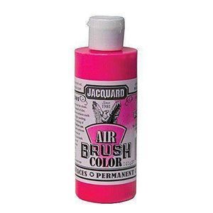 Jacquard Airbrush Color Paint 4 OZ Paint & Dye Jacquard Fluor Hot Pink