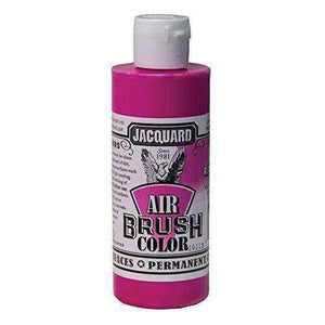 Jacquard Airbrush Color Paint 4 OZ Paint & Dye Jacquard Fluor Raspberry