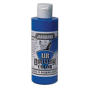 Jacquard Airbrush Color Paint 4 OZ Paint & Dye Jacquard Fluorescent Blue