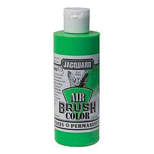 Jacquard Airbrush Color Paint 4 OZ Paint & Dye Jacquard Fluorescent Green