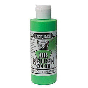 Jacquard Airbrush Color Paint 4 OZ Paint & Dye Jacquard Iridescent Green