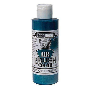 Jacquard Airbrush Color Paint 4 OZ Paint & Dye Jacquard Iridescent Teal